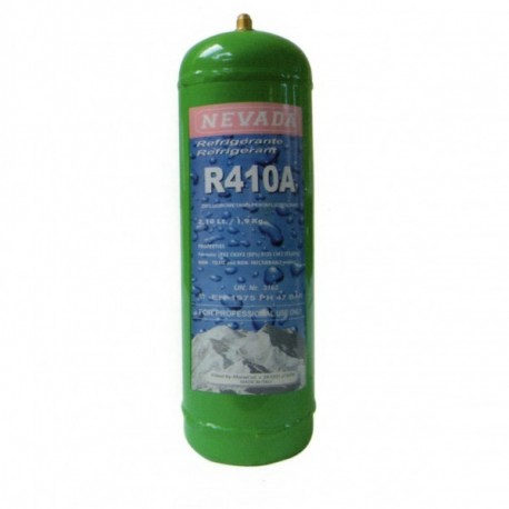 1,8 Kg R410a REFRIGERANT GAS REFILLABLE CYLINDER
