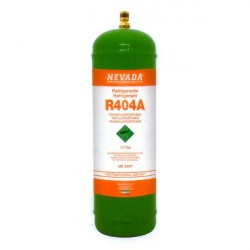 1,7 Kg R404a REFRIGERANT GAS REFILLABLE CYLINDER