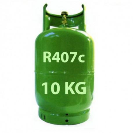10 Kg R407c REFRIGERANT GAS REFILLABLE CYLINDER