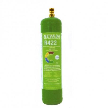 R422 (ex R22) REFRIGERANT GAS RECARGA POR EL KIT