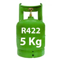 5 Kg R422 gas refrigerante botella recargable