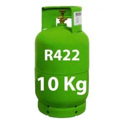 10 Kg R422 (ex R22) GAS REFRIGERANTE BOTELLA RECARGABLE