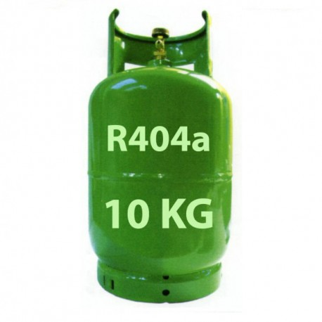10 Kg GAS REFRIGERANTE R404a BOTELLA RELLENABLE