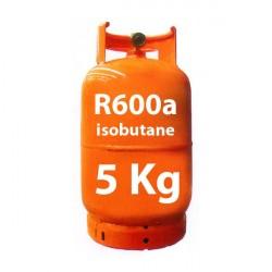 5 Kg R600a GAS (isobutano) botella recargable