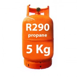 5 Kg R290 GAS (propano) botella recargable