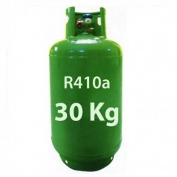 30 Kg GAS REFRIGERANTE R410a BOTELLA RELLENABLE