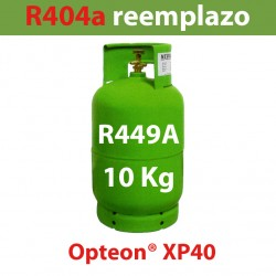 10 Kg GAS REFRIGERANTE R449a BOTELLA RELLENABLE