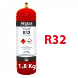 1,8 Kg GAS REFRIGERANTE R32 BOTELLA RELLENABLE