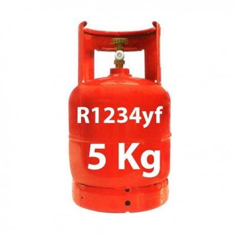 5 Kg GAS REFRIGERANTE R1234YF BOTELLA RELLENABLE