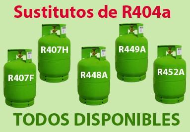 Sustitutos R404a